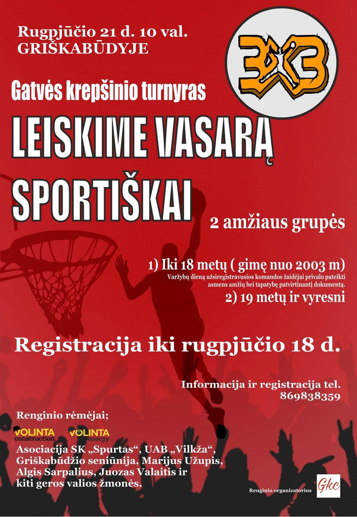 Gatvės krepšinio turnyras